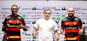 Confira na íntegra a apresentação dos volantes Rentería e Zé Welison no Sport