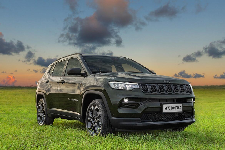 Novo Jeep Compass Série Especial 80 Anos