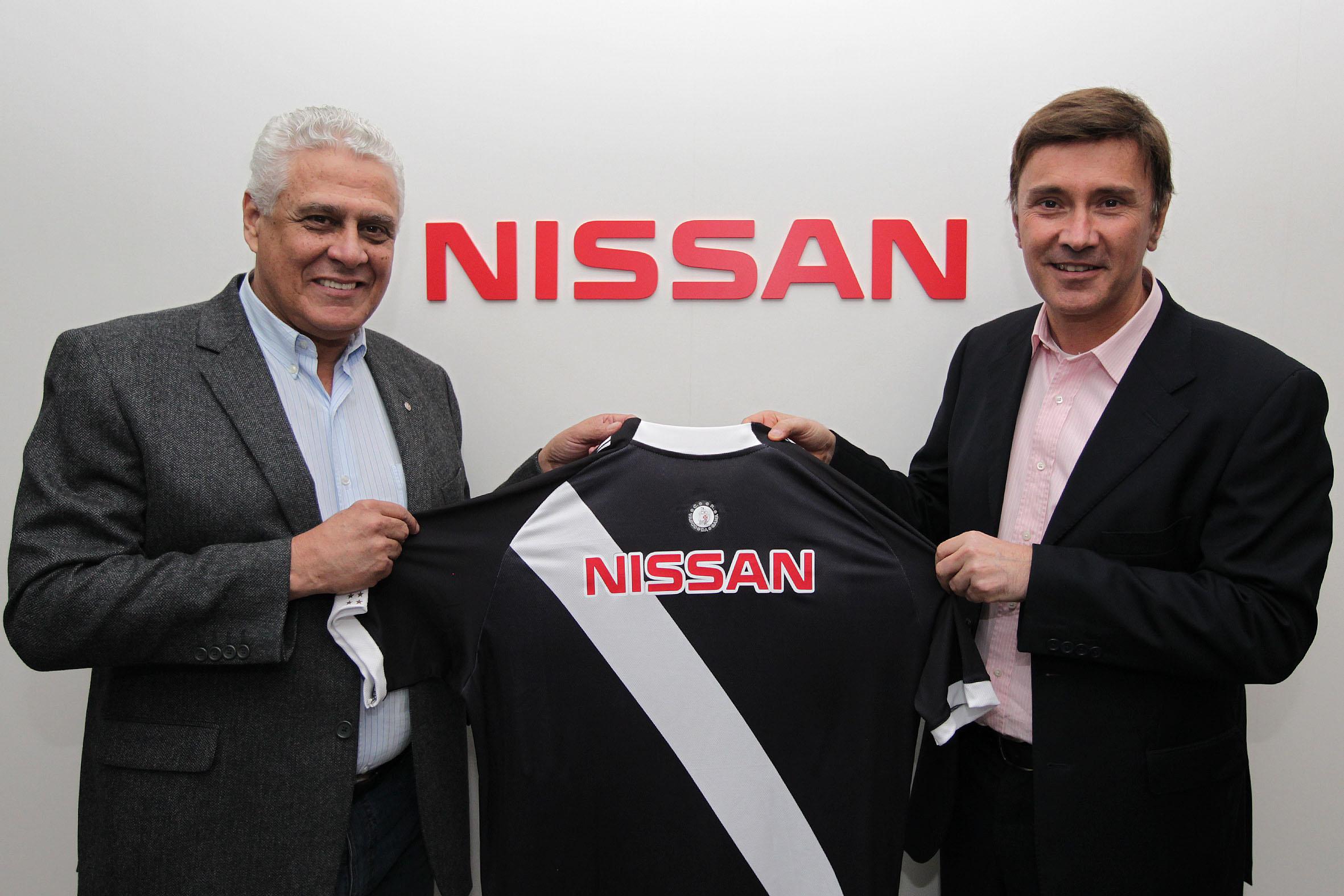 presidente do vasco e da nissan anunciam patrocinio